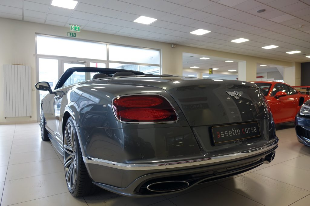 bentley - continental gt vitesse cabrio