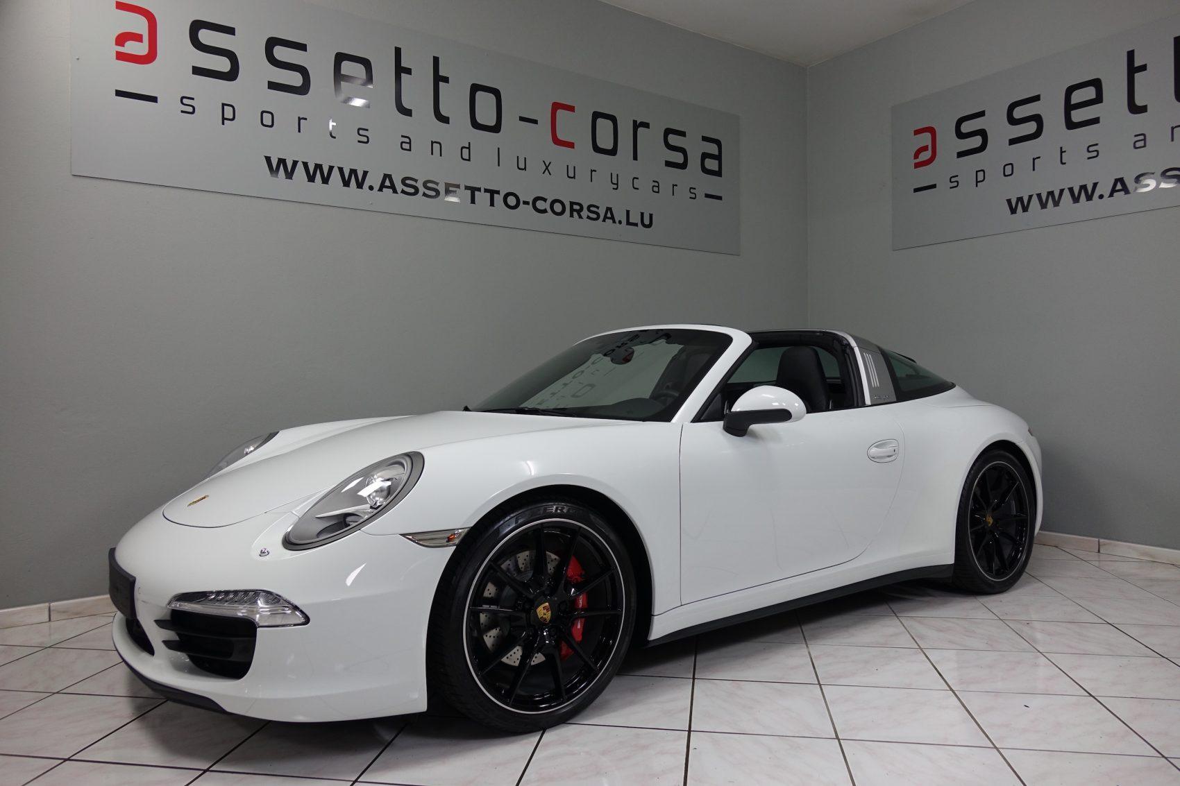 Porsche 911 991 Targa 4s Assetto Corsa
